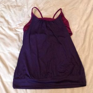 Old Navy Workout Top with Built in Bra
